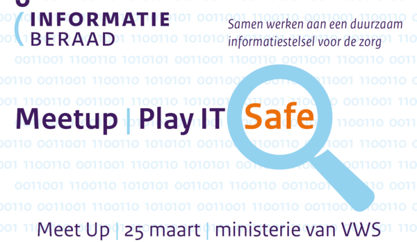 "Meld je aan voor de Meet Up: ""Play IT Safe"""